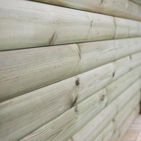 Timber Roofed Hexagonal 4.7m Gazebo