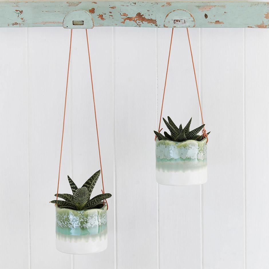 Indoor Hanging Pot - Wave Design