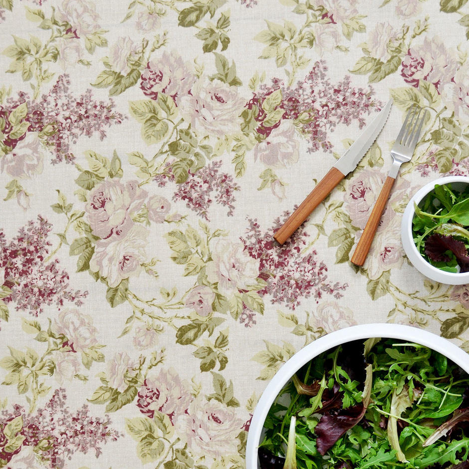 Oilcloth Fabric - Mille