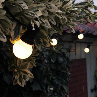 Outdoor Extendable Opaque LED Festoon Lights Sets