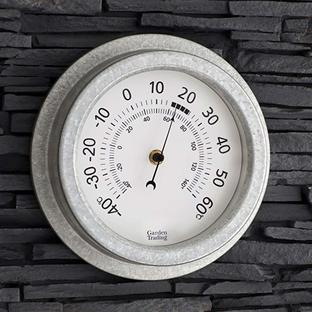 Galvanised Thermometer