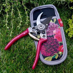 British Bloom Pocket Pruner & Holster Set