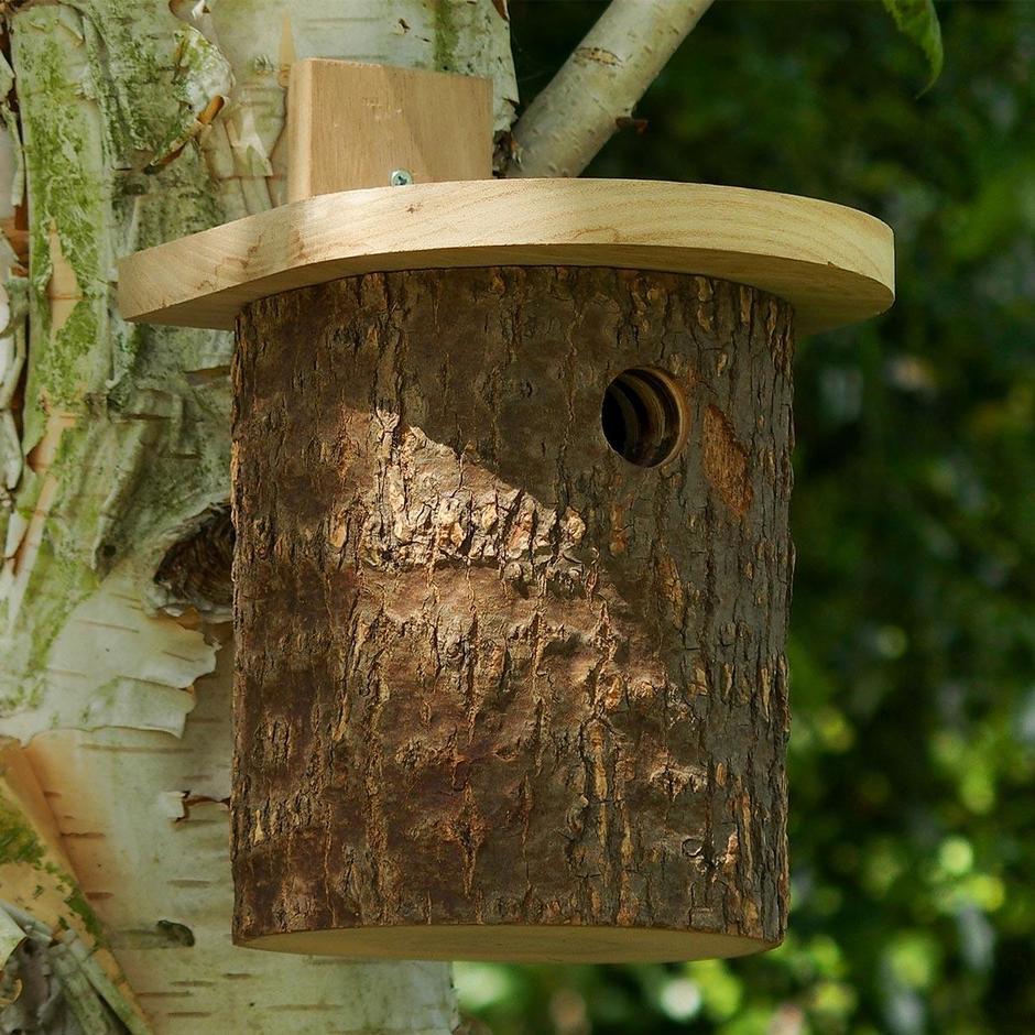 Natural Log Nesting Box