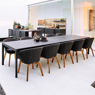 Drop Extendable Dining Table Base