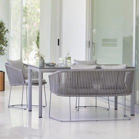 Moments Outdoor Dining Bench