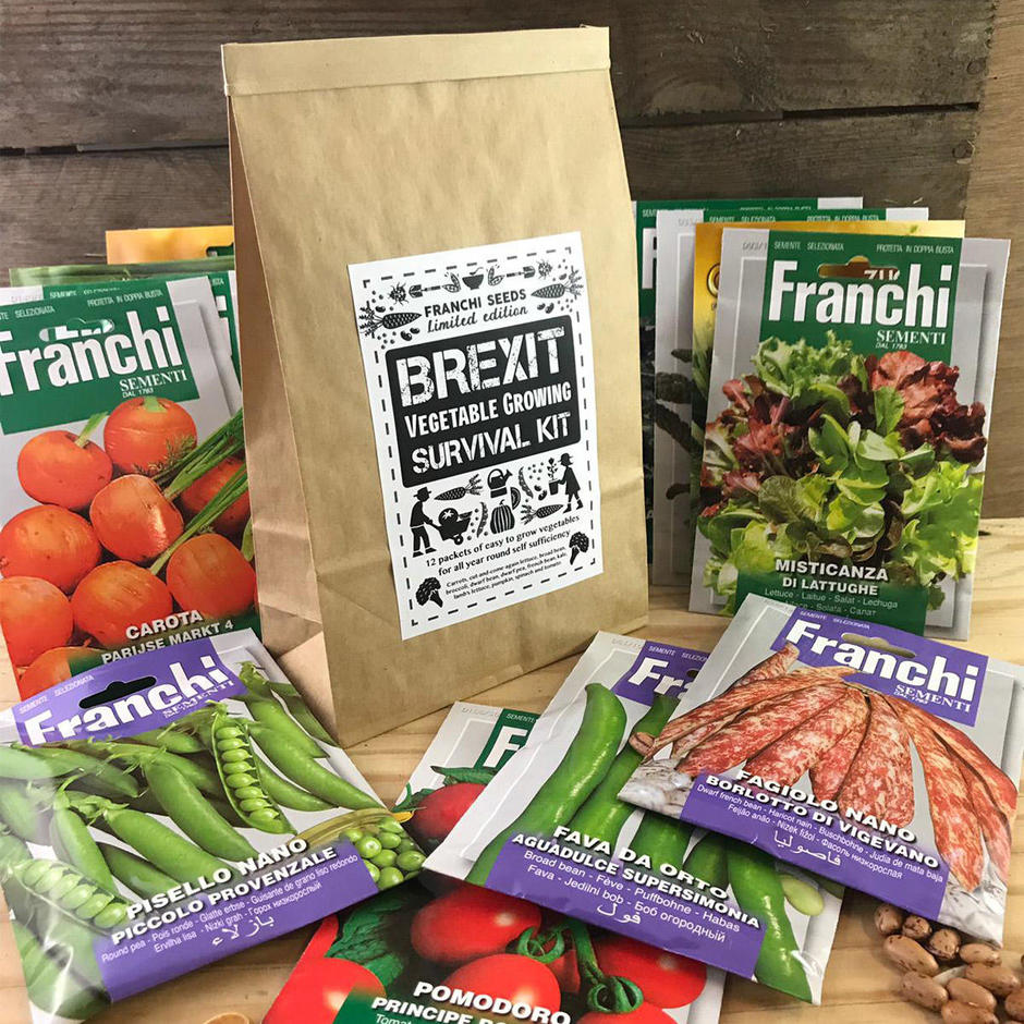 Brexit Vegetable Growing Survival Kit - Limited Edition