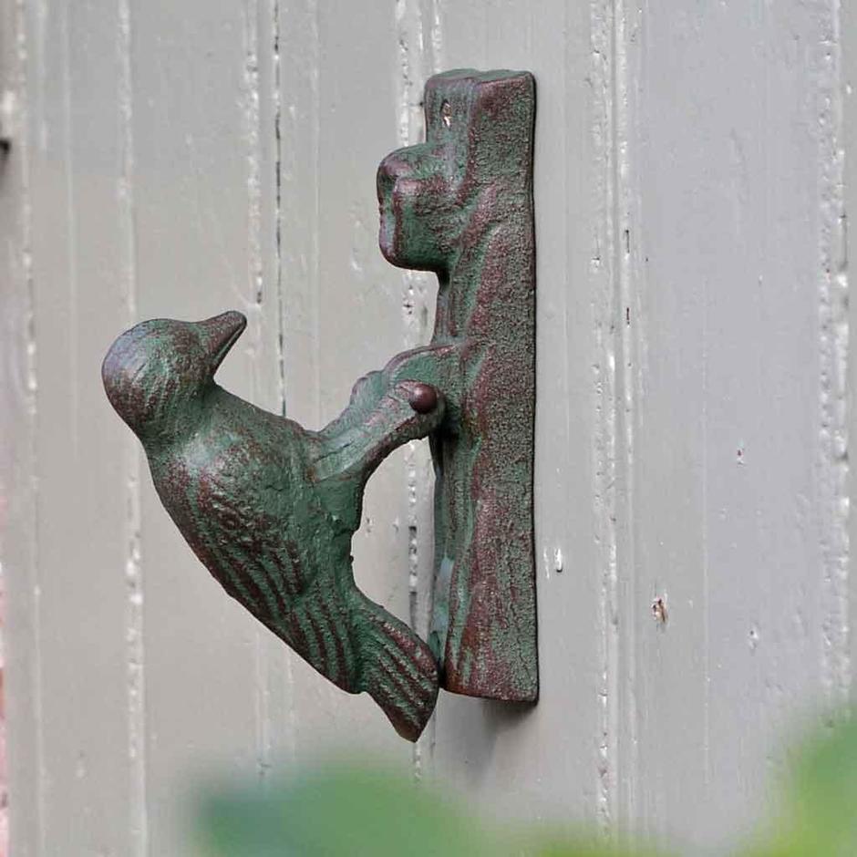 Woodpecker Door Knocker