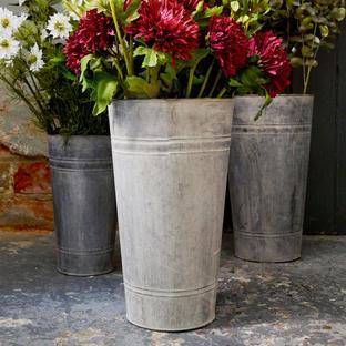 Zinc Florist Buckets