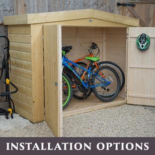 Outdoor Apex Roof Large Storage Sheds