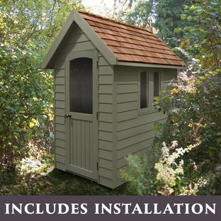 Painted Retreat Sheds