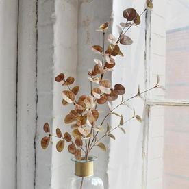 Gilded Metallic Eucalyptus Spray