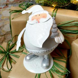 Round Wobbly Santa