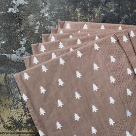 Christmas Tree Paper Napkins