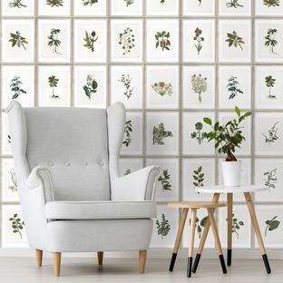 Botany Feature Wallcovering