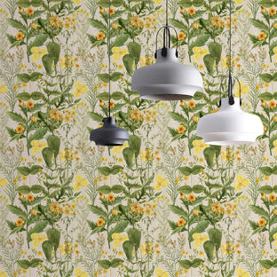 Mimulus Feature Wallcovering