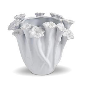 Botanical Ceramic Vase