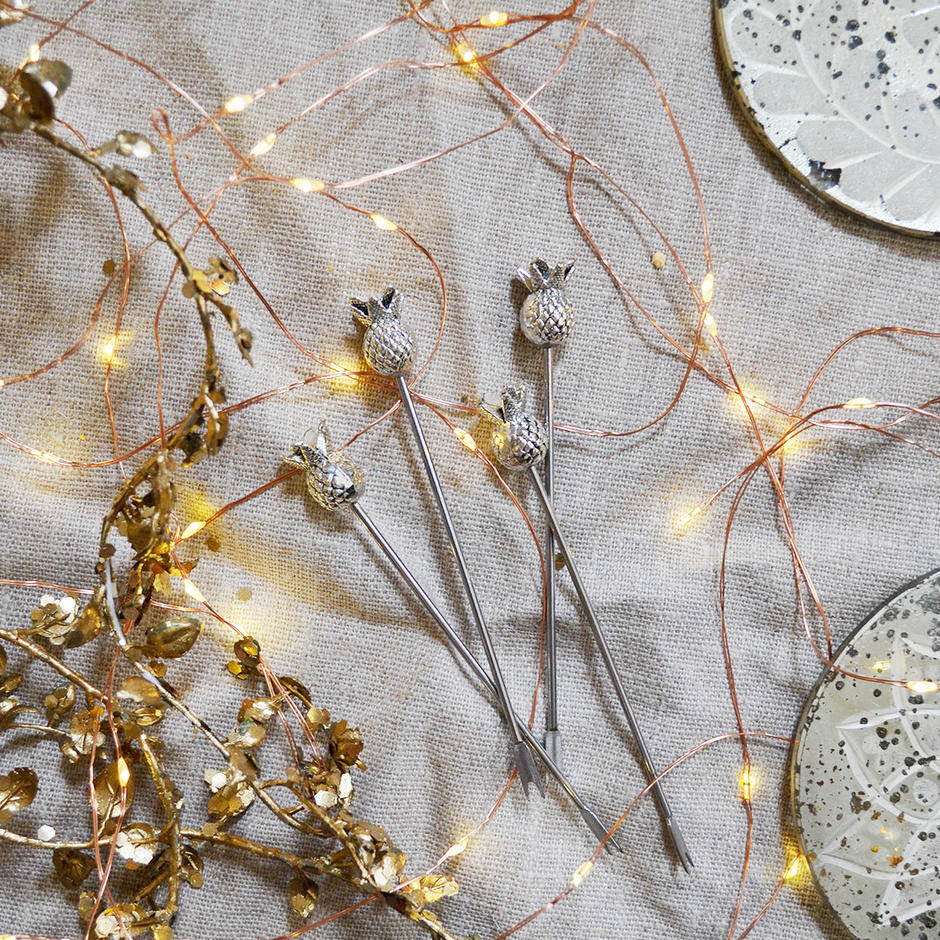 Copper Bare Wire LED Outdoor String Lights