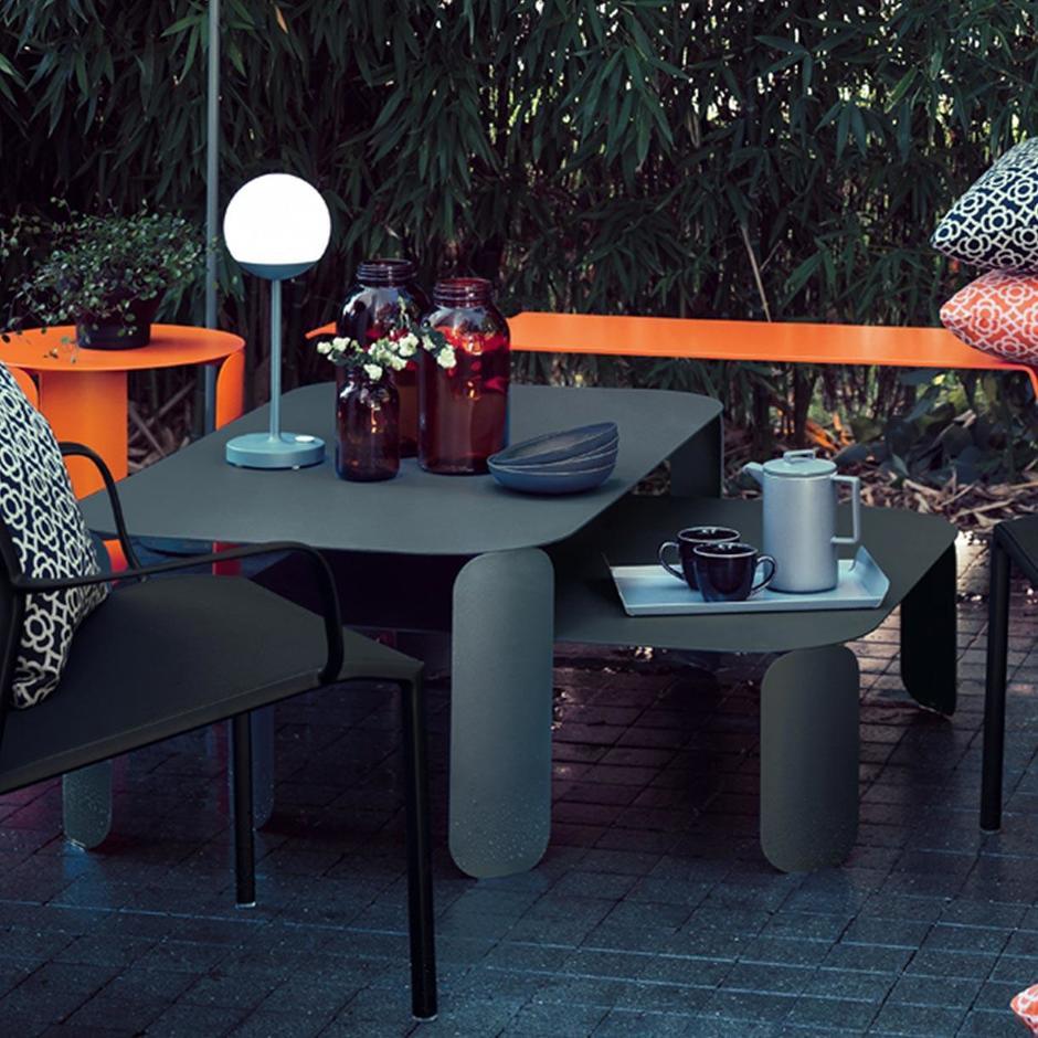 Bebop Rectangular 42cm Table - high