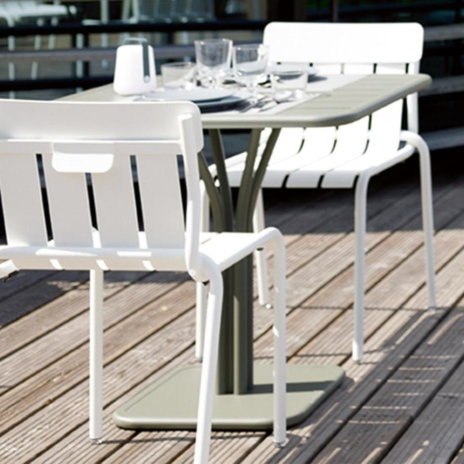 Luxembourg Pedestal Square Tables