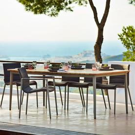Core 100cm wide Outdoor Dining Tables