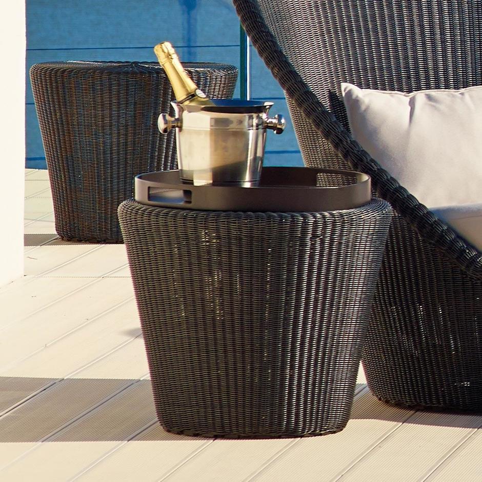 Kingston Woven Small Stool / Side Table