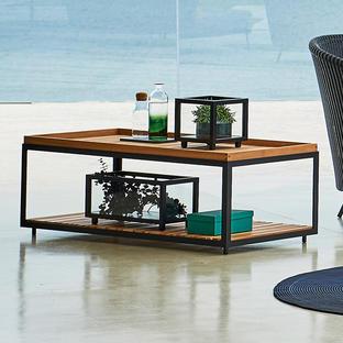 Level Rectangular Coffee Table Frame