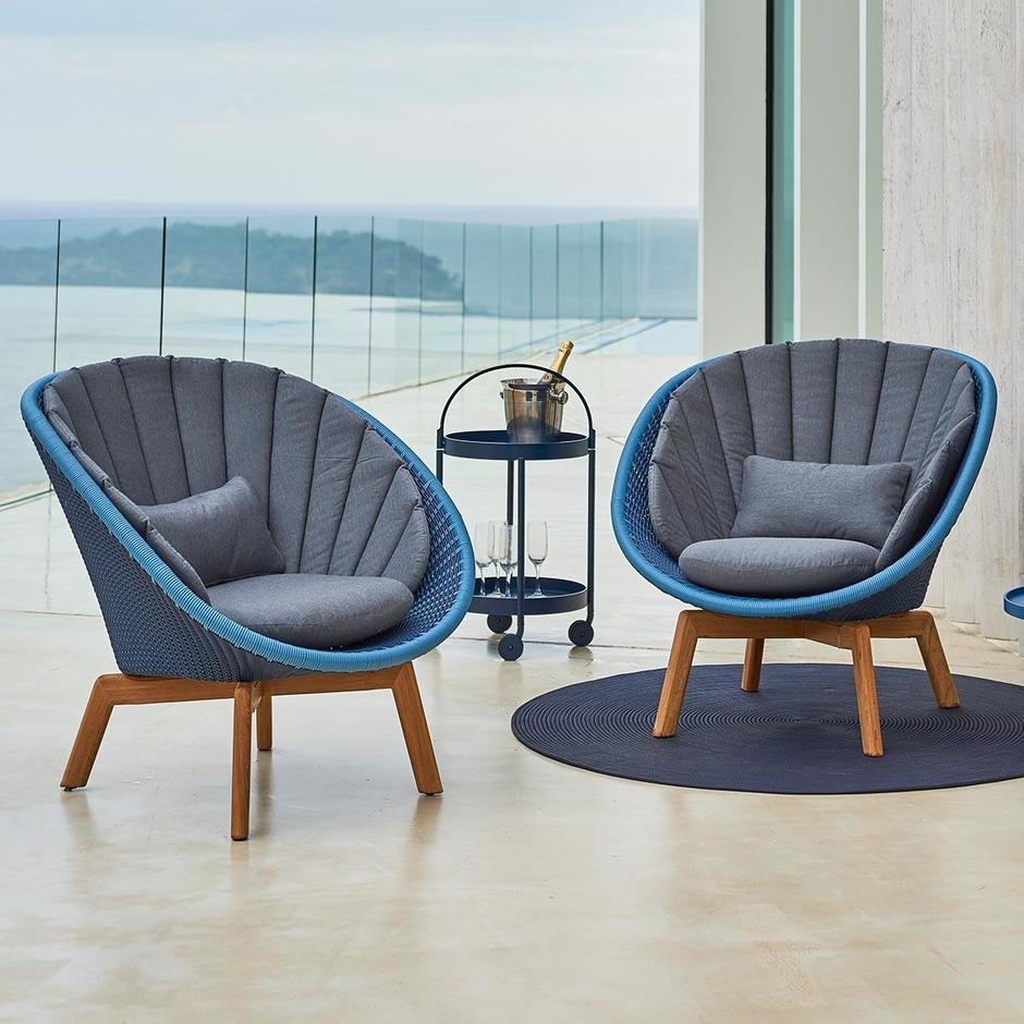 Peacock Outdoor Lounge Chair