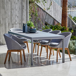 Drop 200x100cm Dining Table Base