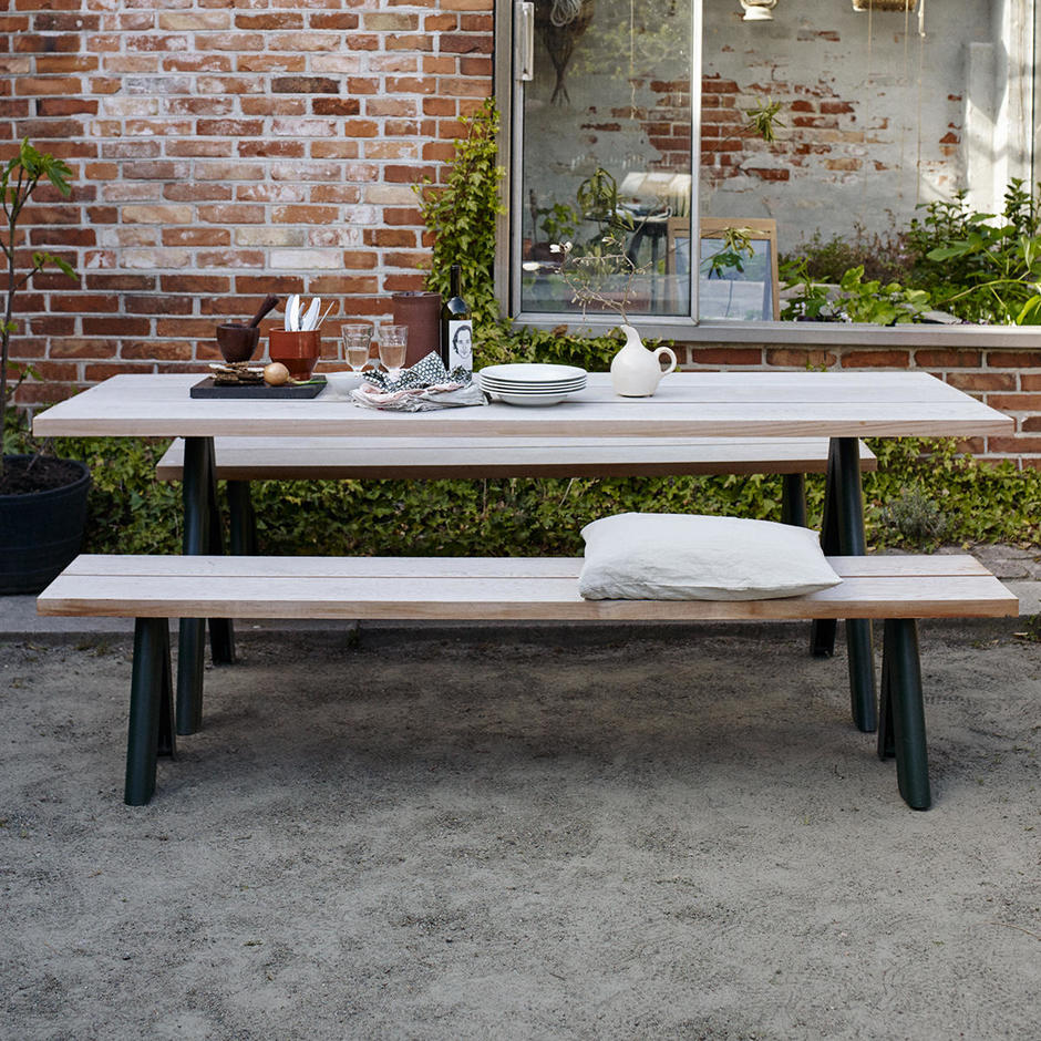 Overlap Dining Bench