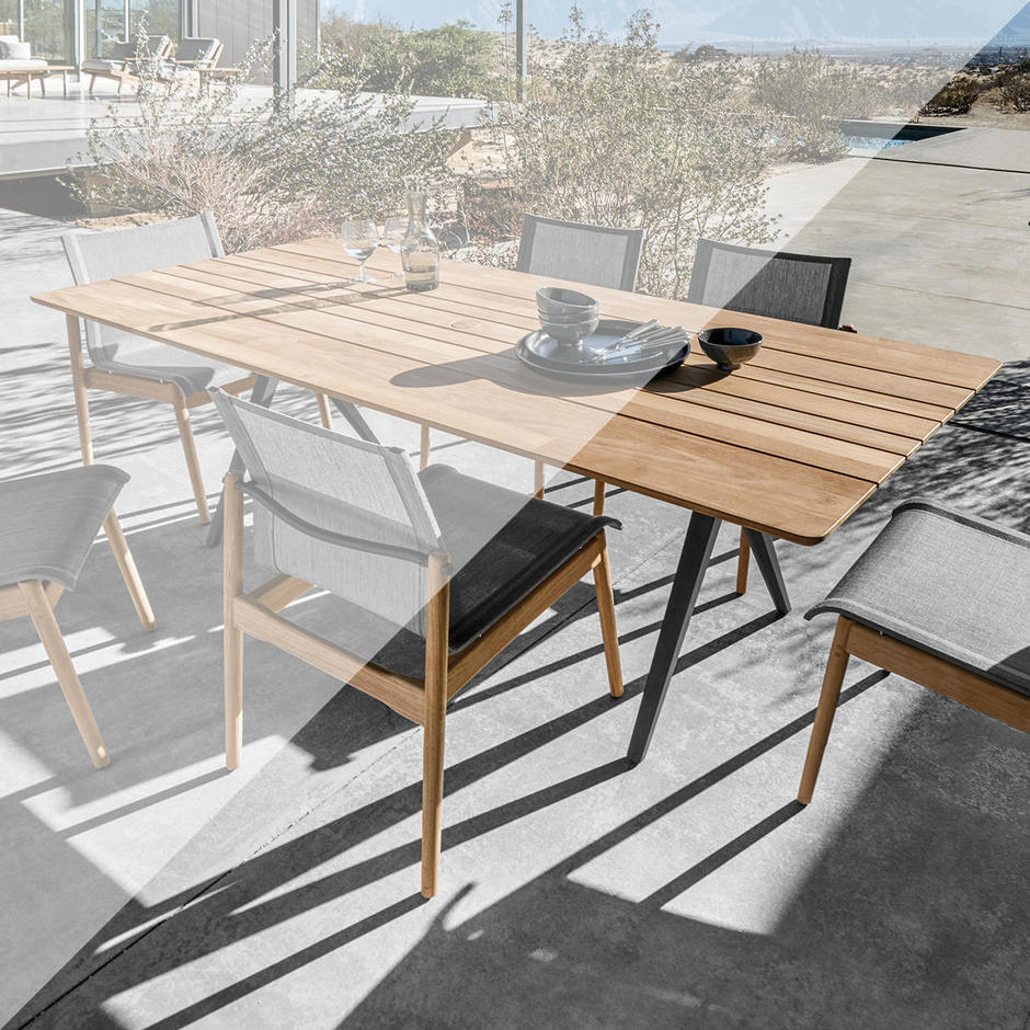 Outdoor Covers for Split Dining Tables by Gloster