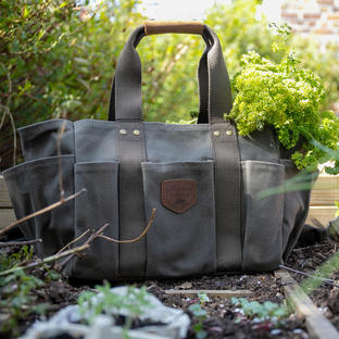 Wax Canvas Gardening Bag