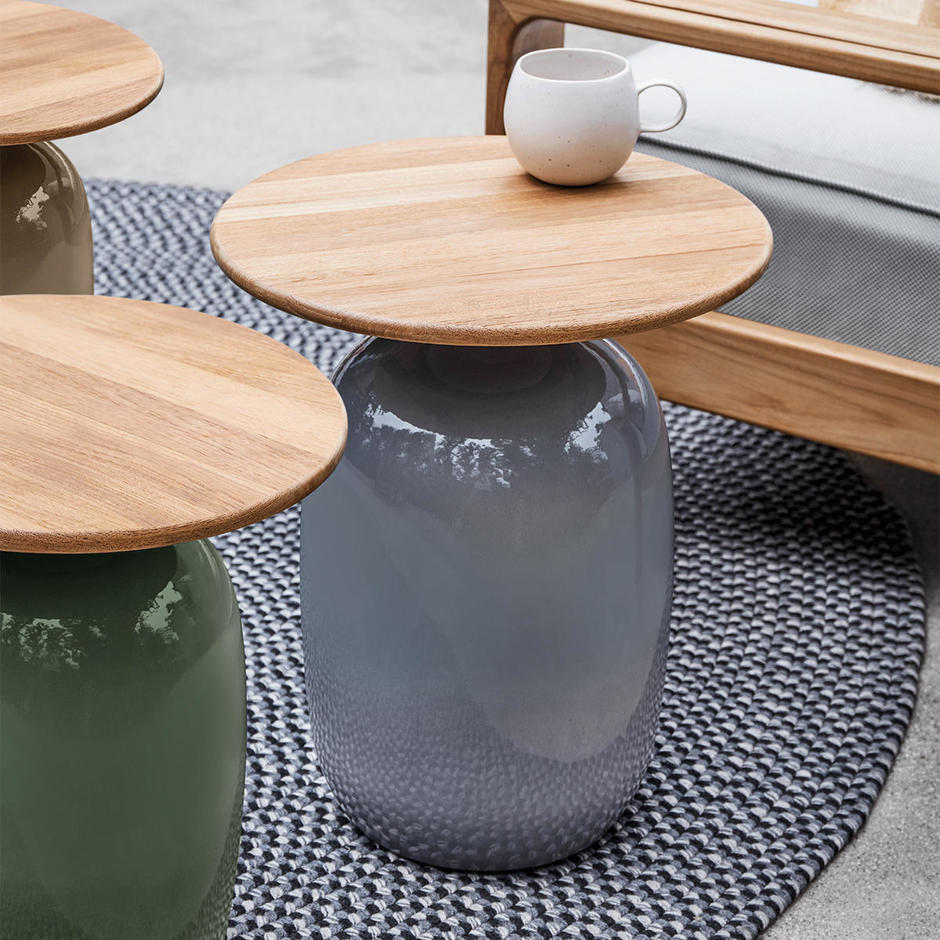 Blow Round High Side Tables