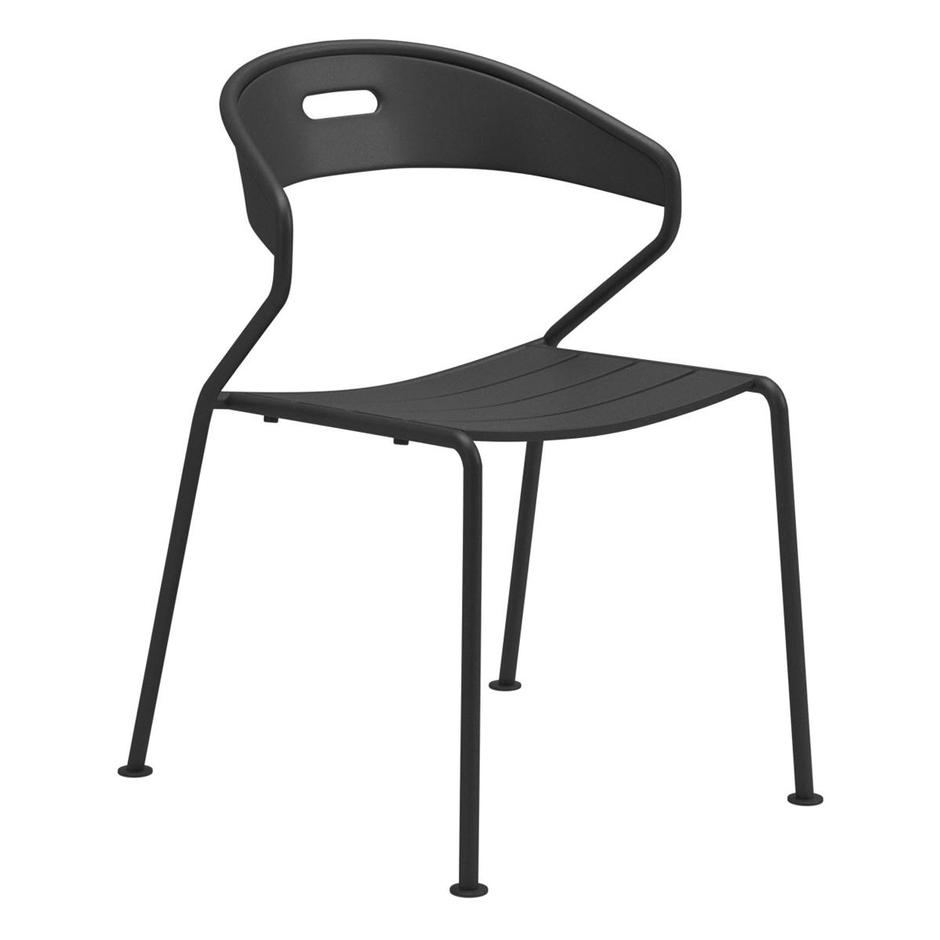 Curve Aluminium Dining Chair