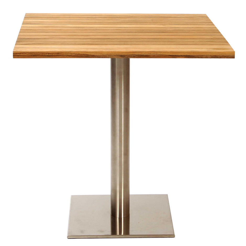 Canteen Outdoor Stainless Steel Square Table Base
