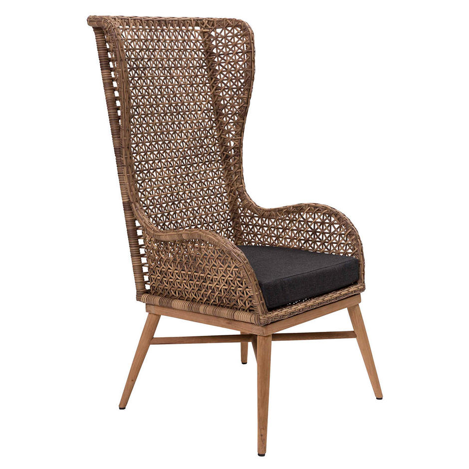 Madagascar High Back Chair Seat Pad