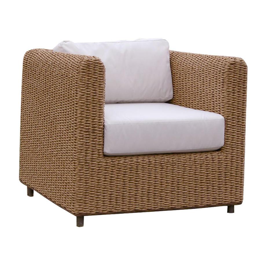 Malibu Outdoor Lounge Armchair Cushion Set