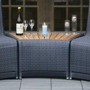 Oasis Outdoor Curved Modular Side Table