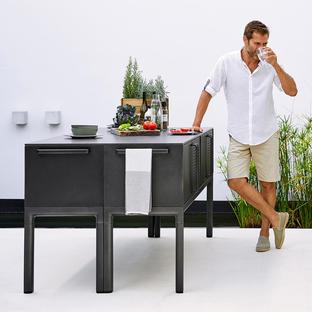 Drop Outdoor Kitchen Module Unit