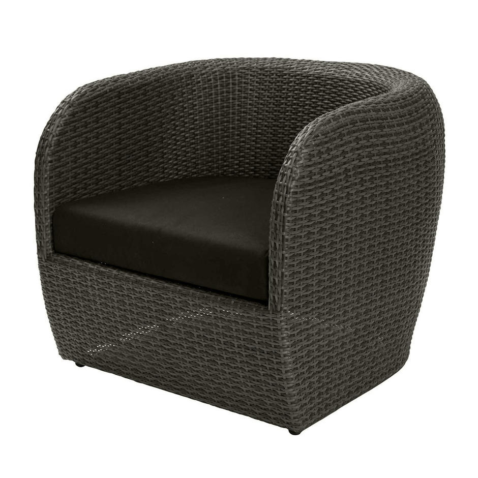 Tubby Outdoor Lounge Chair Seat Cushion