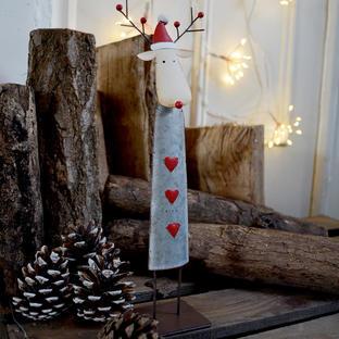 Roger the Standing Reindeer Decoration