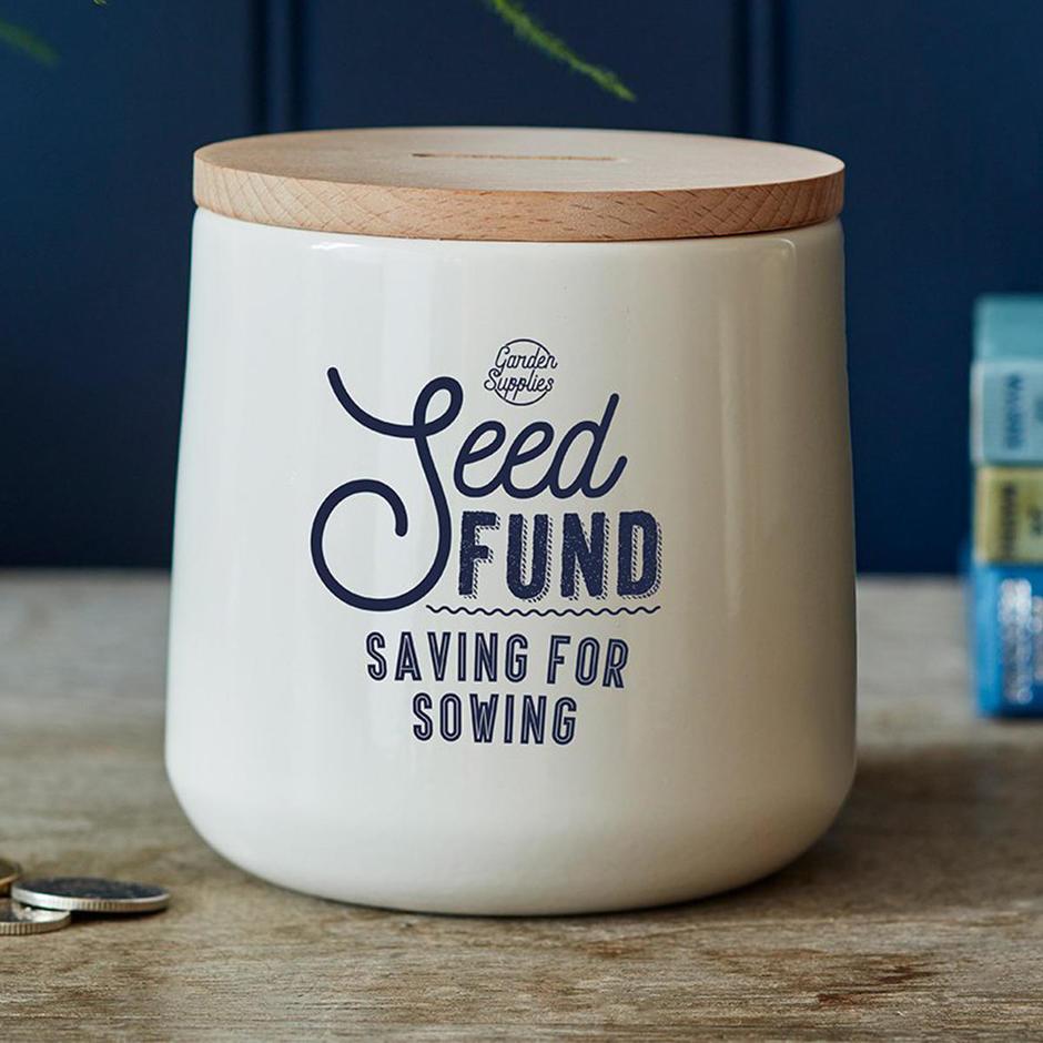 Seed  Fund Money Box Tin