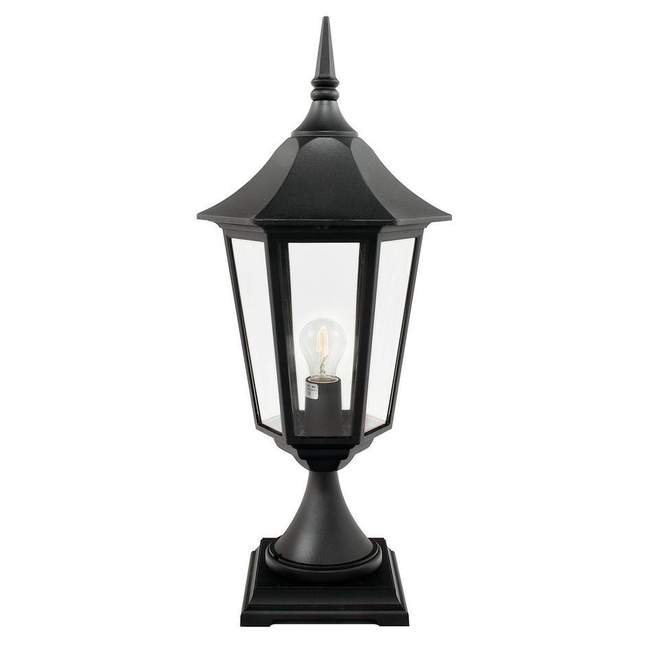 Valencia Grande Outdoor Pedestal Lantern