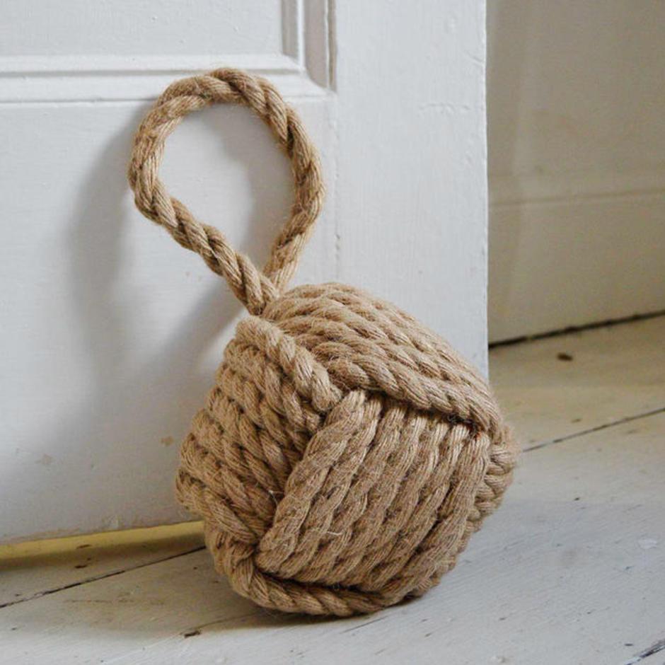 Rope Ball Knot Design Doorstop