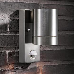 Tin Outdoor Maxi Wall Lighting with Sensor