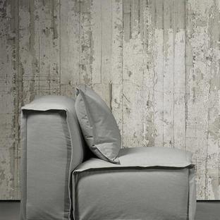 Concrete Wallpaper - White Paint Concrete