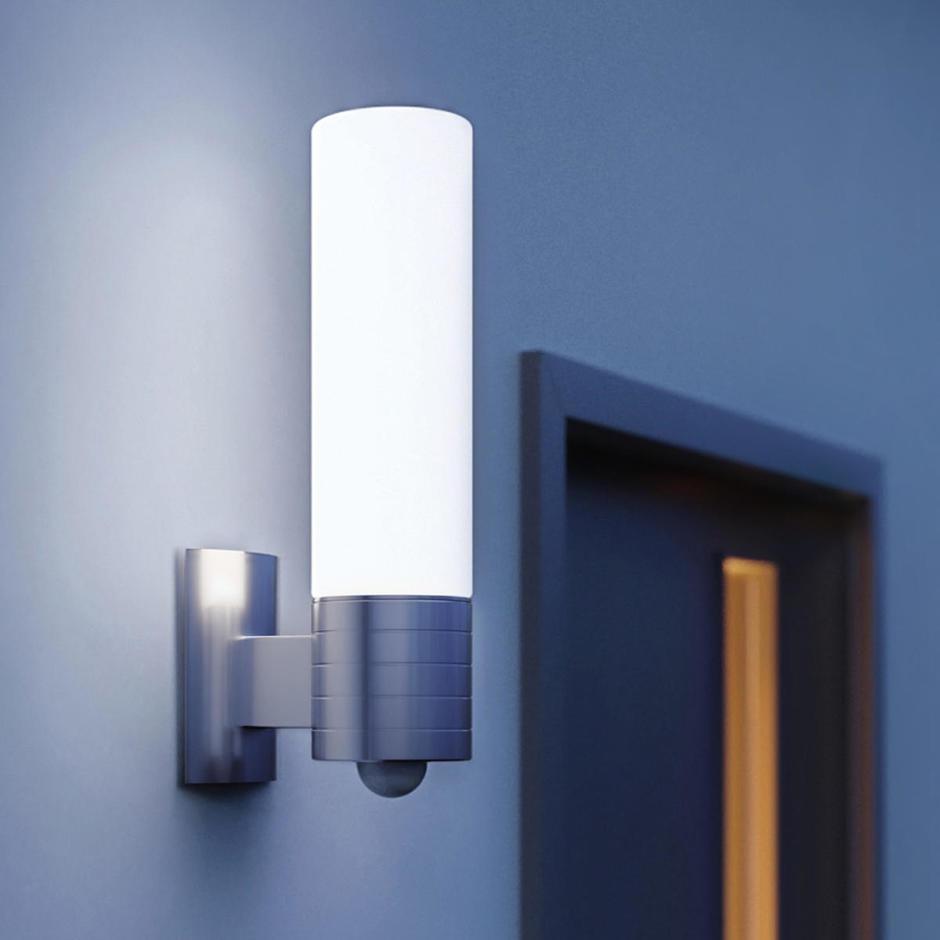PIR Ridged Tube Style Outdoor LED Light