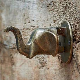 Elephant Head Door Knocker