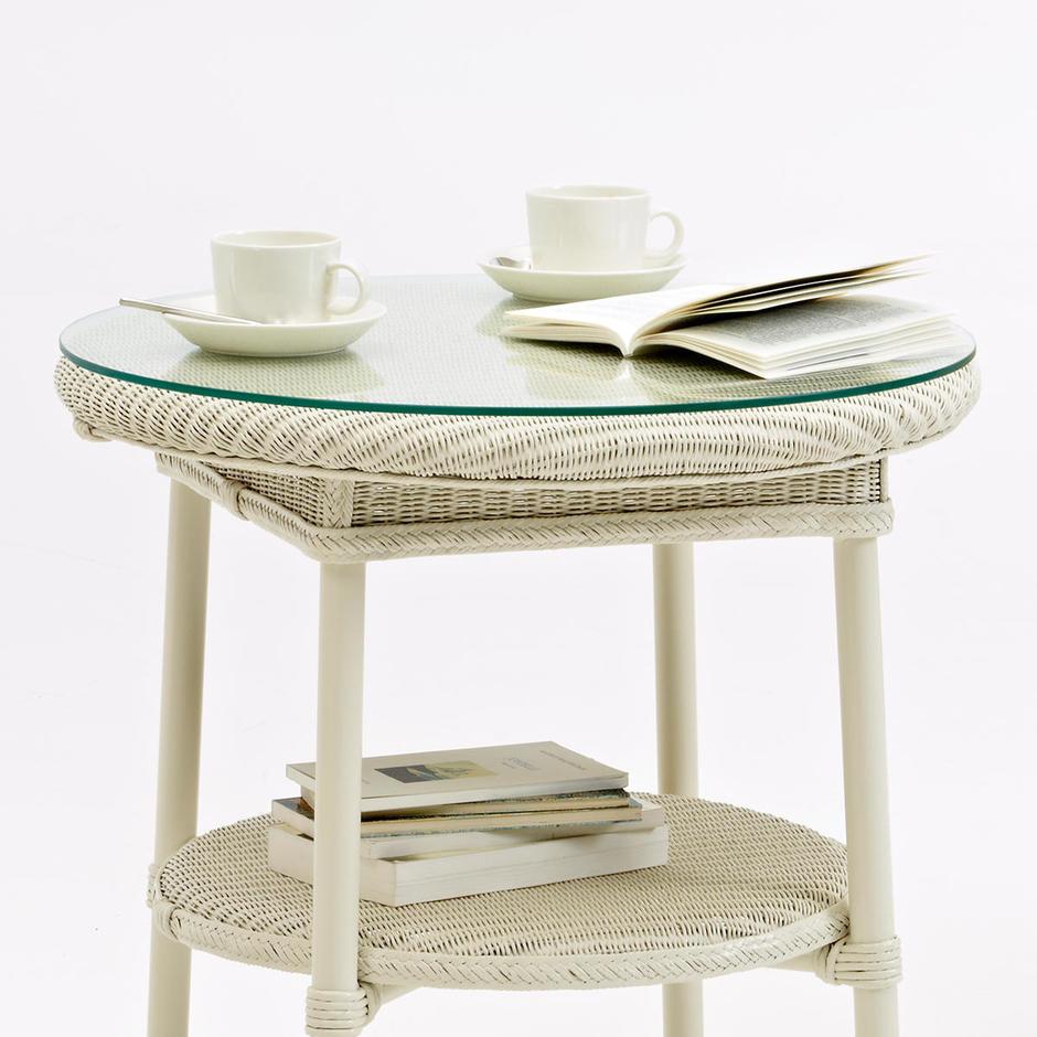 Avignon Side Table Glass Top