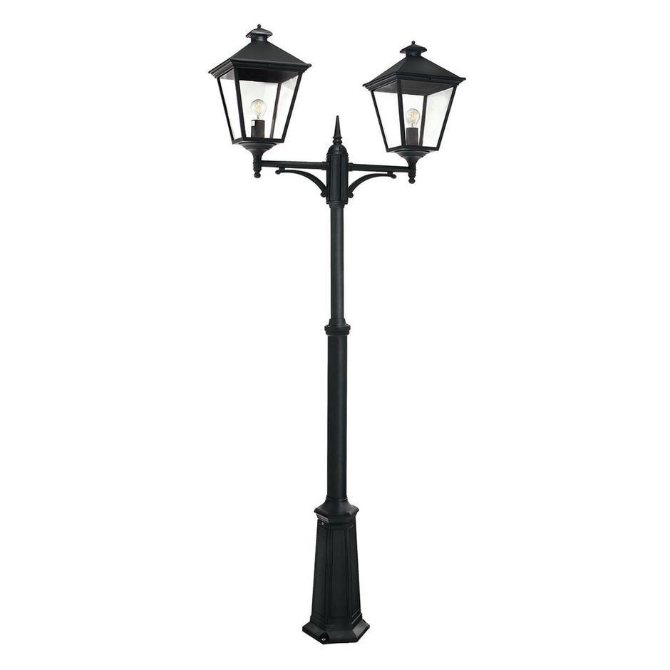 Turin Grande Outdoor Twin Post Lantern