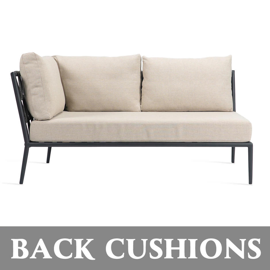Leo Modular Left/Right Corner Back Cushions